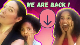 Our Family Vlog - WE ARE BACK - ALL OF US! - Pierre Sisters, Mom and Dad