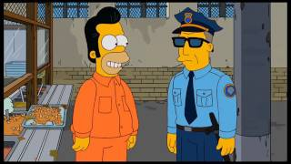 The Simpsons: Homer works for the FBI [Clip]