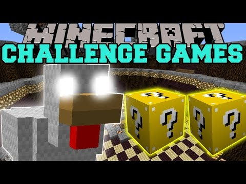 Minecraft: MUTANT CHICKEN CHALLENGE GAMES - Lucky Block Mod - Modded Mini-Game