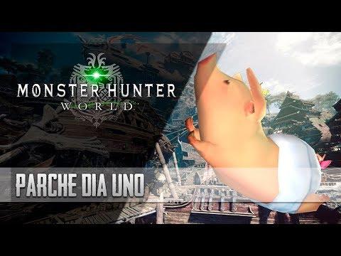 [Masa Informa] Monster Hunter World - Parche día uno: Galería  Online  Poogie  Street Date