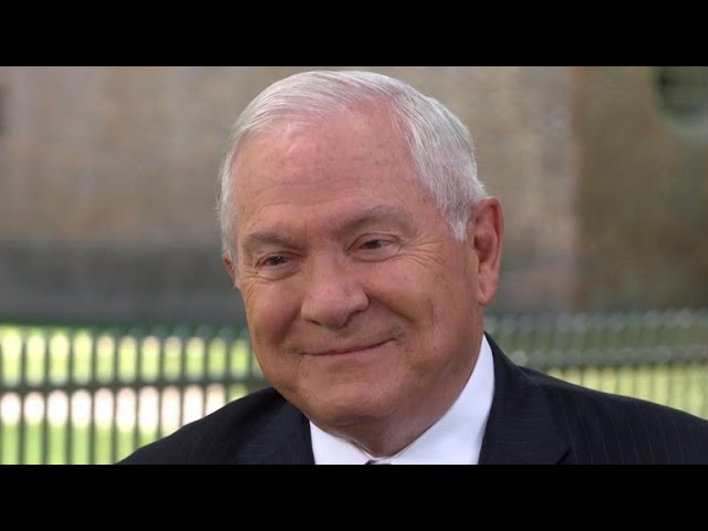 "Robert Gates says two-state solution between Israelis, Palestinians ""on life support"""