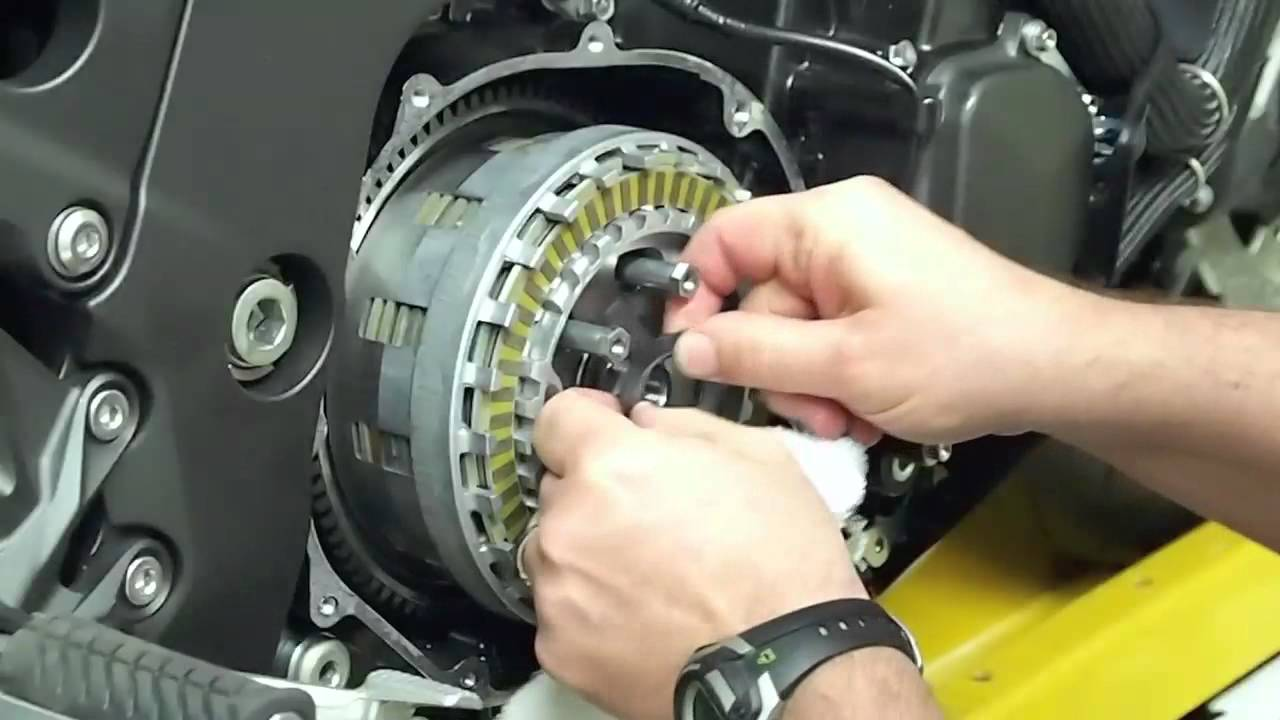 Kawasaki Ninja  Clutch Cover Diagram