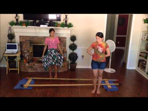 Tinikling Tutorial video