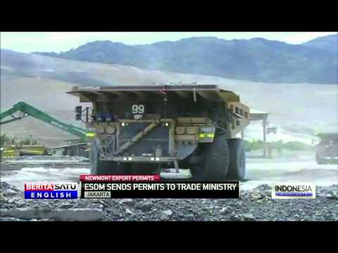 US Mining Giant Newmont Issued Copper Export Permits