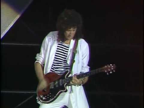 Brian May @ Wembley - Solo Video