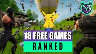 18 FREE Nintendo Switch Games! Which Ones Should You Play? RANKED!