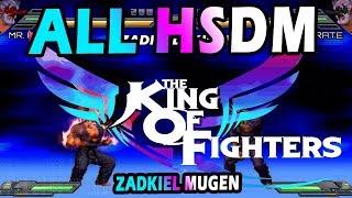[MUGEN] The King Of Fighters Wing All Hidden Super Desperation Moves (HSDM) |  Zadkiel Mugen