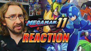 MAX REACTS: Mega Man 11 - New 2018 Trailer