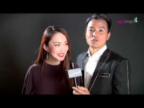 Fann Wong ( Phạm Văn Phương và Baby 4 tháng) & Baba  Christopher Lee