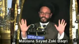 Maulana Sayed Zaki Baqri - Topic : Dua Aur Rizq, Majlis-3-1434