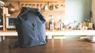 "【snow peak】防水バックパック&コクヨのバッグインバッグ ☆ water proof backpack with ""bag in bag"" by Kokuyo"