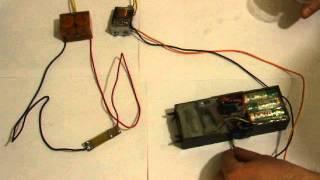 Электрошокер из конденсатора