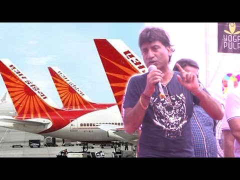Raju Srivastav's Funny Jokes On Air India thumbnail