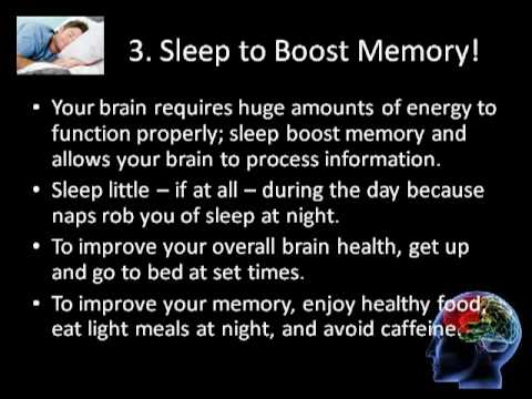 ways to increase memory capacity