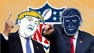 All 32 NFL Logos Redesigned as Donald Trump