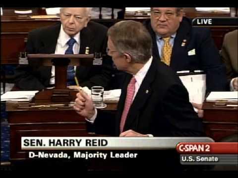 """Wonderful Man"": Harry Reid Praises RINO Thad Cochran"