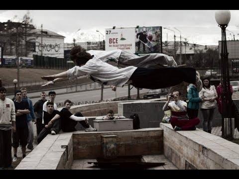 Фриран в Красноярске - акробатика паркур акрострит | Мы летаем высоко (20.04.2013) |