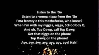That Part - Schoolboy Q ft Kanye West Lyrics + audio