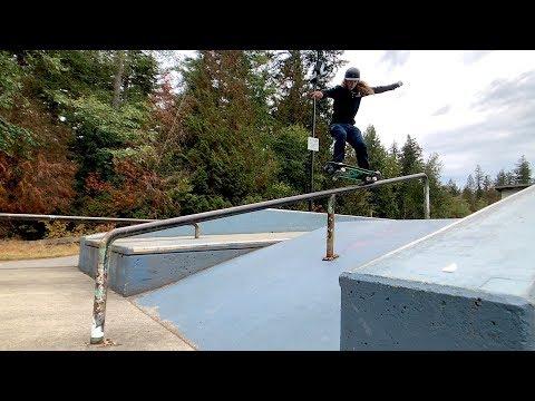 ANDY ANDERSON CRAZY HOME SKATE PARK - VANCOUVER TRIP PT. 2 - NKA VIDS -