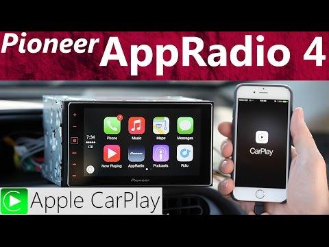 Pioneer SPH-DA120 AppRadio 4 and Apple CarPlay - Review