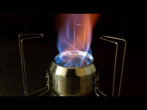 How to make Tornado Open Jet Alcohol Stove Ver.2.0
