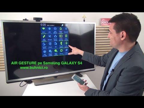 Samsung Galaxy S4 - Air Gesture (www.buhnici.ro)