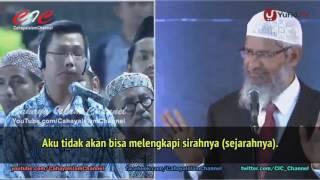 Dokter Muda Katolik Masuk Islam | Zakir Naik