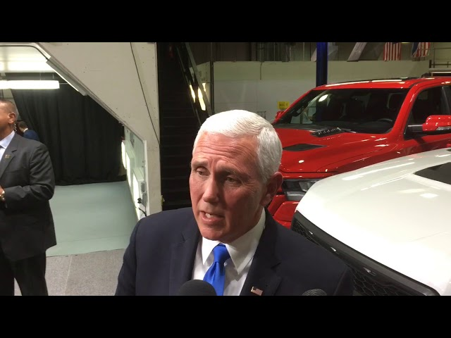 Vice President Mike Pence says new trade deal benefits Michigan
