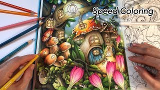 SPEED COLORING: Tenderful Enchantments | Chris Cheng