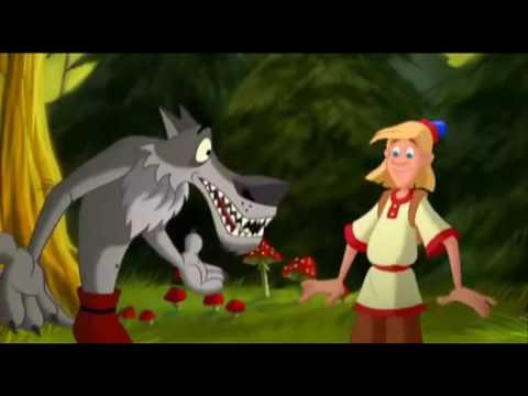 Мультфильм-Иван дурак и серый волк