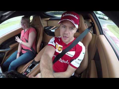 Autoweek Ride Along With Sebastian Vettel, 2015 U.S. Grand Prix