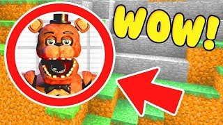Minecraft : WE FOUND FREDDY FAZBEAR'S SECRET FNAF BASE! (Ps3/Xbox360/PS4/XboxOne/PE/MCPE)