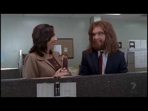 The New Guy - Geico Cavemen vs. Progressive Girl Flo