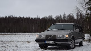Bought Volvo 940 Estate 2.4TD (D24TIC) (1080p)