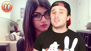 13 Interesting Facts About Mia Khalifa and schedule when she online - Tharkistan | Ao chudai karne