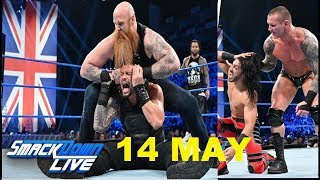 wwe smackdown live highlights 14 may 2019 | smackdown highlights 14/5/19 | Roman vs shane