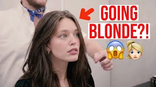 I DYED MY HAIR!  Emily DiDonato + Kennaland