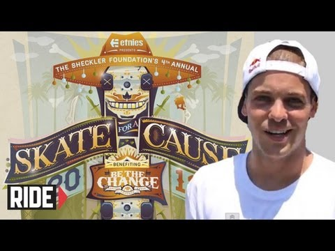 Ryan Sheckler 4th Annual Skate For A Cause