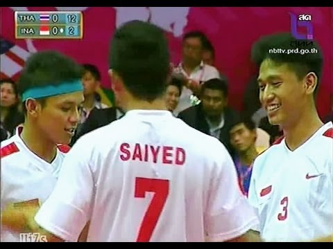 Thailand - Indonesia Sepak Takraw King's Cup 2013 Final Match Men's Team (c) video