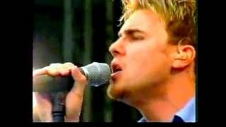 Gary Barlow - Stronger (Live at Party in The Park 1999)