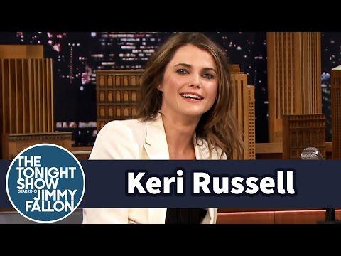 Keri Russell Has Intense Family Nerf Wars