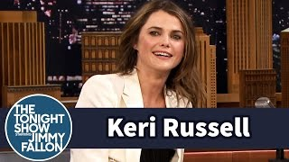 Keri Russell Has Intense Family Nerf Wars