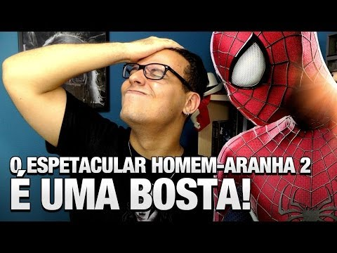 O Espetacular Homem-Aranha 2 é uma bosta! REVIEW - Vlog do TN 29