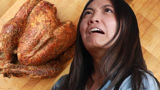 We Made Terrible Cooks Carve A Turkey