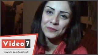 """بالفيديو.. الفنانة نيفين محمد: «رامز جلال لو استضافنى هطب ساكتة"""""""