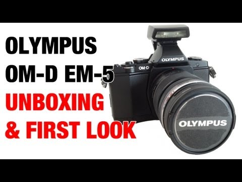 Olympus OM-D EM-5 Unboxing & First Look