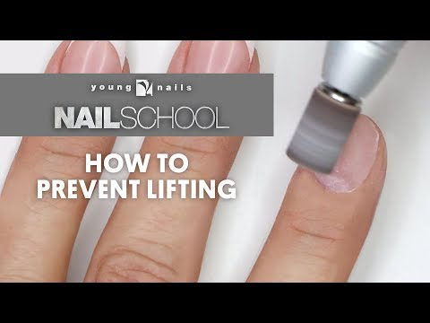 YN NAIL SCHOOL - HOW TO PREVENT LIFTING
