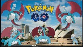 Pokemon Go - Bagon Hunt (Time to evolve into Salamence)
