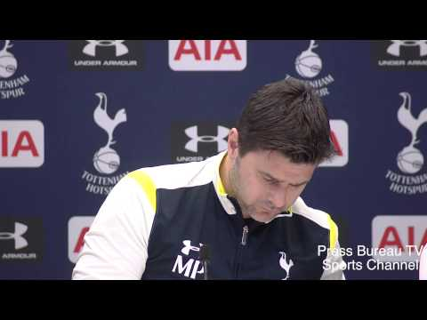 Mauricio Pochettino pre Tottenham vs Chelsea Capital One Cup Final