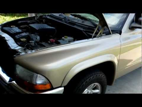 2003 Dodge Dakota 4.7L V8 EVAP Canister and Hoses location